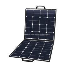 100W Portable Flexible Solar Outdoor Power Panel