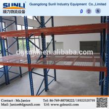 CE Q235B armazém pesado aço líquido prateleira do armazenamento