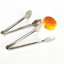 hot sale kitchen tool stainless steel food serving mini ice tongs for sale