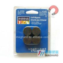 Super-strength D19mm ferrite magnet magnetic discs