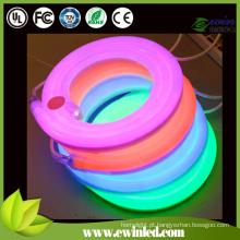Luz de néon LED flexível com economia de energia SMD3528 80LED / M