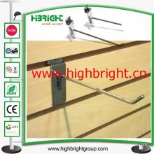 Mesh Back Steel Wire Slatwall Scanning Display Hooks