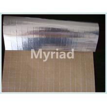 Isolamento alumínio calor selagem folha kraft scrim com material de PE