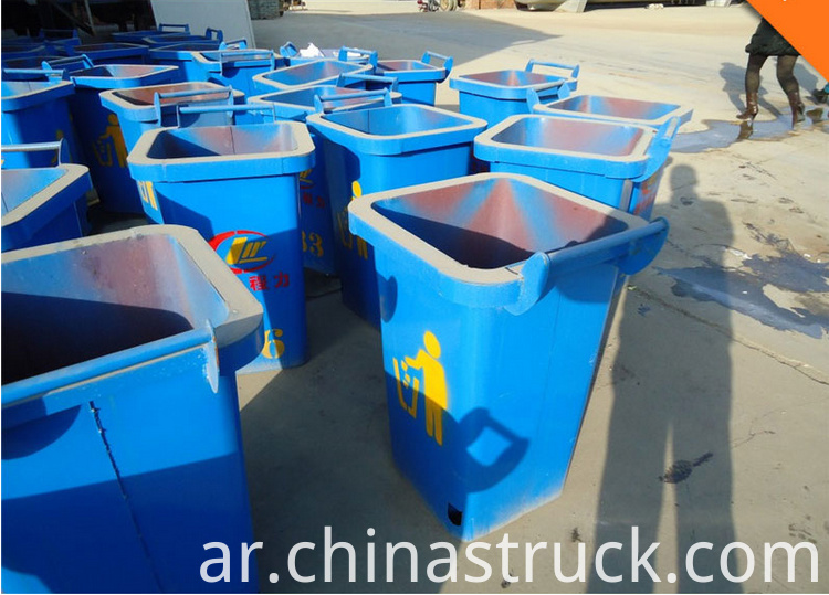 side loader garbage bin photo
