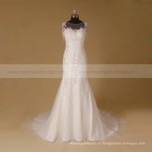 Robe de mariée de haute qualité en mariée en mariée dévoilée