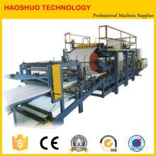 Máquina formadora de rollos de panel sándwich EPS