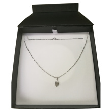 Zip Lock Packed Jewelry Necklace Paper Box
