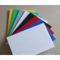 panneau blanc de mousse de PVC, feuille de PVC