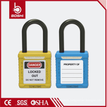 Nylon Non-Conductive Shackle 38mm Safety Padlock (BD-G11)