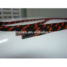 Orange and Black Shoelaces