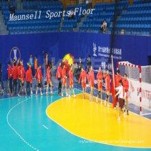 Tapis de sol de sports de handball de PVC / vinyle