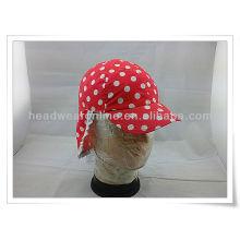 100% coton organique Le plus récent multifonctionnel UV et cou Protection chapeau chapeau / enfant