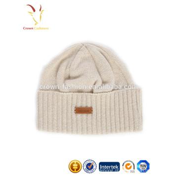 Chapéu de gorro desleixado inverno malha engraçado