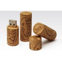 wooden cork usb flash disk