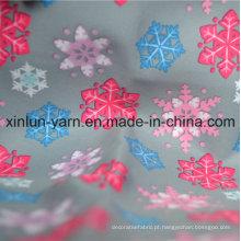 Tecido de cortina bonita de poliéster para vestuário / vestido