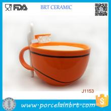 Novelty Funny Design Ceramic Basketball Mug