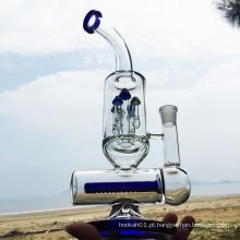 Inverno Tubos de água de fumar vidro azul mais novo projeto (ES-GB-295)