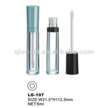 Klare Lippenglanzbehälter