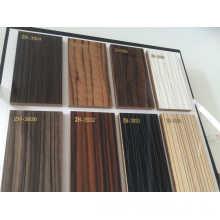 Junta de MDF recubierta de UV de madera brillante (ZHUV)