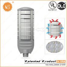 CRI70 60W-210W Luz de calle LED con sensor de luz serie