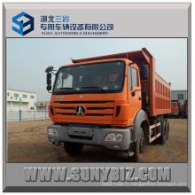 Beiben 6X4 290HP Camion benne basculante 6 * 4 Dumper Camion benne