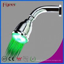 Cabezal de ducha de mano LED con autoamplificación colorida de Fyeer Novedad