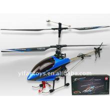 8829 Rc 2.4G 4ch à l'échelle moyenne en métal hélicoptère w / gyro