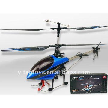 8829 Rc 2.4G helicóptero del metal de la escala media 4ch con el girocompás