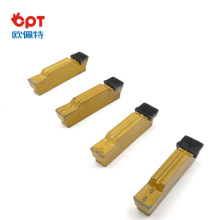 Mini-inserts de rainurage pour joints toriques PCD 2 mm