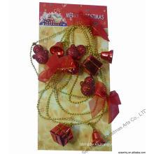 Giftbox Lámina de cuentas decoraciones navideñas