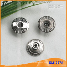 Metallknopf, kundenspezifische Jean-Knöpfe BM1357