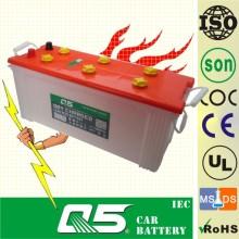 12V120ah Bateria seca do caminhão Bateria resistente Bateria carregada a seco N120 (115F51-N120)