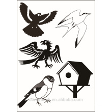 2016 newest hangzhou yiwu hot wholesale Cute animal design clear stamps for paper making scrapbook