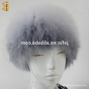 New Fashion Winter Fox Shaped Fur Pattern Russian Hat