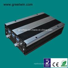 10-20dBm GSM850 + PCS1900 + Aws1700 + Lte2600 Repetidor del G / M del aumentador de presión de la señal (GW-20CPAL)