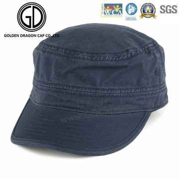 Moda moagem lavagem lazer legal chapéu militar cap