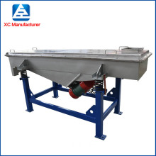 quartz sand linear rectangular vibrating classifier screen