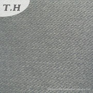 Grey Color Linen Furniture Fabric by 300GSM