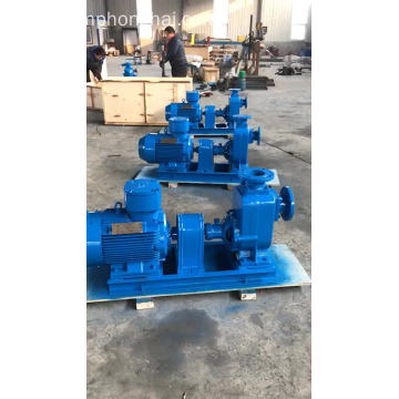 Self priming engine diesel fuel centrifugal pump