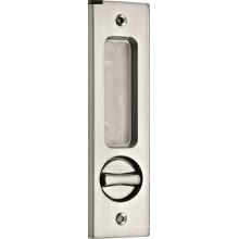 Hardware de porta deslizante de decoração para Bethroom com liga de zinco