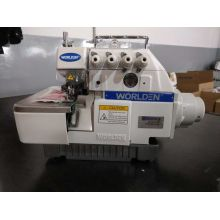 Acionamento direto WD - 747D 4 Thread Overlock Industrial máquina de costura bom preço