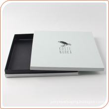 Elegant black and white cardboard for suit paper package wholesale