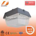 60W gas station led canopy lights with 5 years warranty