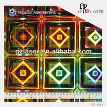 GZ-044, Hologramm General Master, Diamant-Muster Aluminiumblech