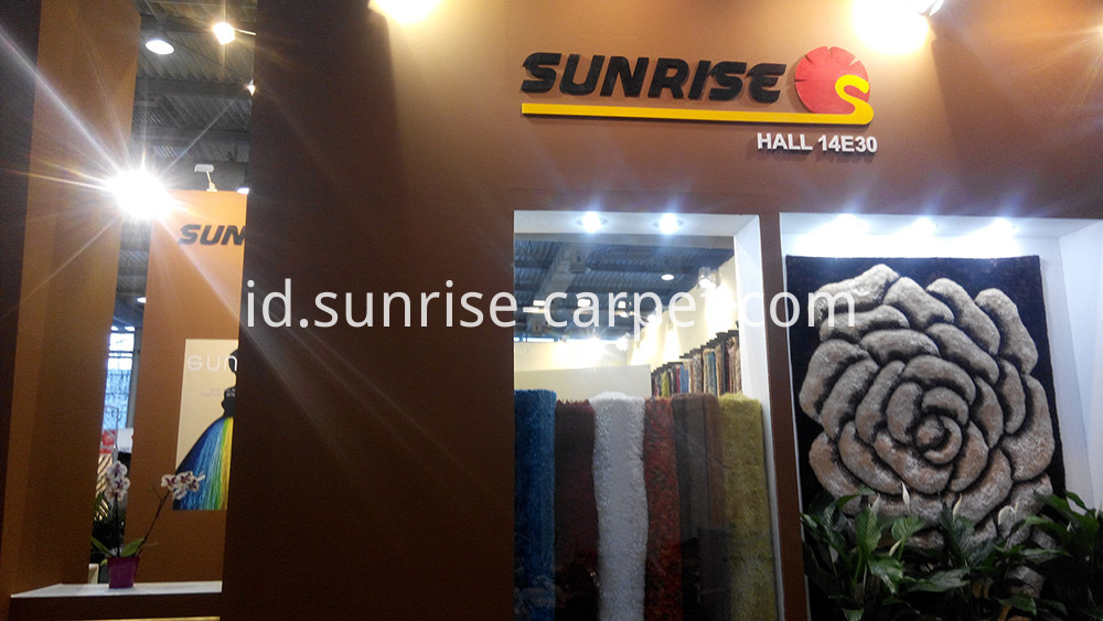Domotex Hannover Fair Sunrise Carpet1