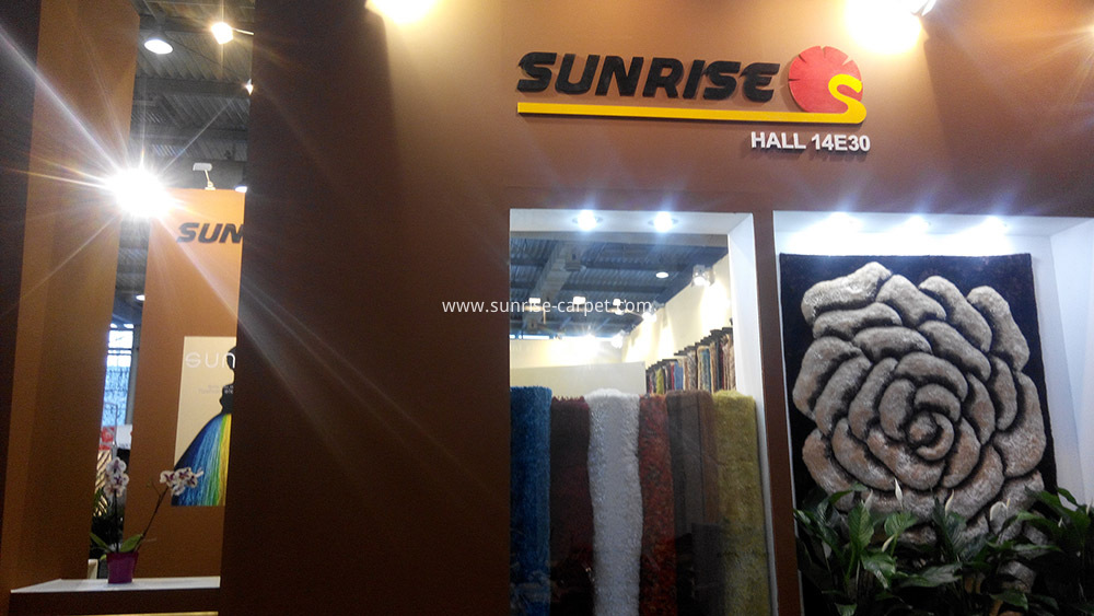 Domotex Hannover Fair--SUNRISE CARPET1