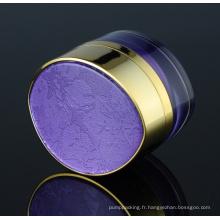 Jy220-01 30g ovale PMMA Jar cosmétique