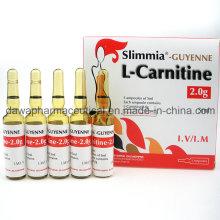 Readt Stock para inyección de L-carnitina que quema grasa 2.0g