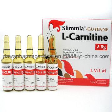 Stock en stock pour la L-Carnitine Injection Fat Burning 2.0g