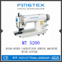 Speed High Lockstitch Sewing Machine with Cutter (5200)